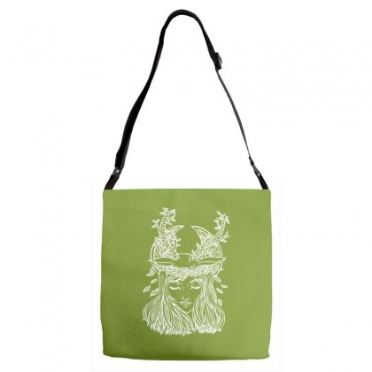 The Forest Princess Adjustable Strap Totes Designed By Specstore