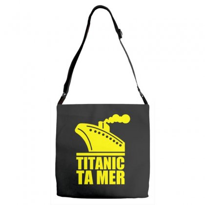 Titanic Ta Mer Adjustable Strap Totes Designed By Specstore