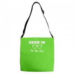 geek is the new sexy Adjustable Strap Totes | Artistshot