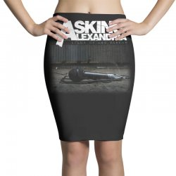 asking alexandria stand up and scream metalcore parkway drive Pencil Skirts | Artistshot