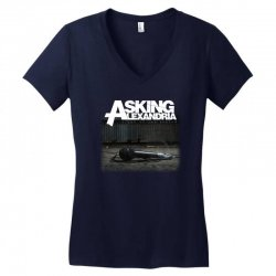 asking alexandria stand up and scream metalcore parkway drive Women's V-Neck T-Shirt | Artistshot