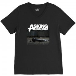 asking alexandria stand up and scream metalcore parkway drive V-Neck Tee | Artistshot