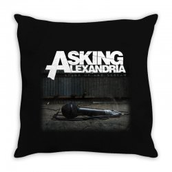 asking alexandria stand up and scream metalcore parkway drive Throw Pillow | Artistshot