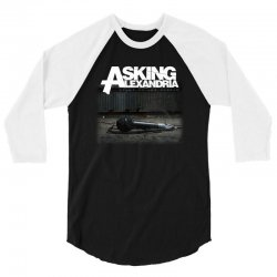 asking alexandria stand up and scream metalcore parkway drive 3/4 Sleeve Shirt | Artistshot