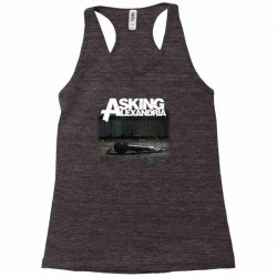 asking alexandria stand up and scream metalcore parkway drive Racerback Tank | Artistshot