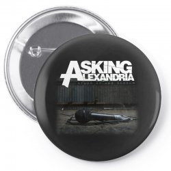 asking alexandria stand up and scream metalcore parkway drive Pin-back button | Artistshot
