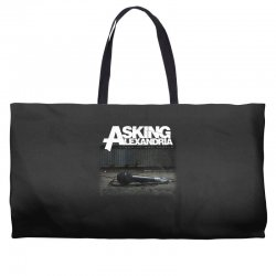 asking alexandria stand up and scream metalcore parkway drive Weekender Totes | Artistshot