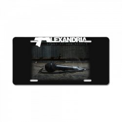 asking alexandria stand up and scream metalcore parkway drive License Plate | Artistshot