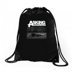 asking alexandria stand up and scream metalcore parkway drive Drawstring Bags | Artistshot