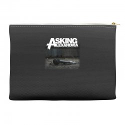 asking alexandria stand up and scream metalcore parkway drive Accessory Pouches | Artistshot
