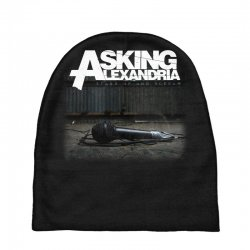asking alexandria stand up and scream metalcore parkway drive Baby Beanies | Artistshot
