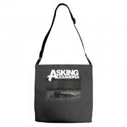 asking alexandria stand up and scream metalcore parkway drive Adjustable Strap Totes | Artistshot