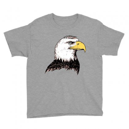 Bald Eagle Youth Tee Designed By Iamar25
