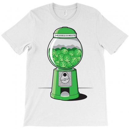 Brussels Sprout Machine T-shirt Designed By Iamar25