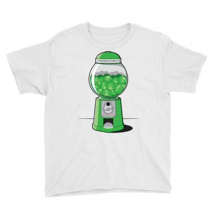 Brussels Sprout Machine Youth Tee Designed By Iamar25