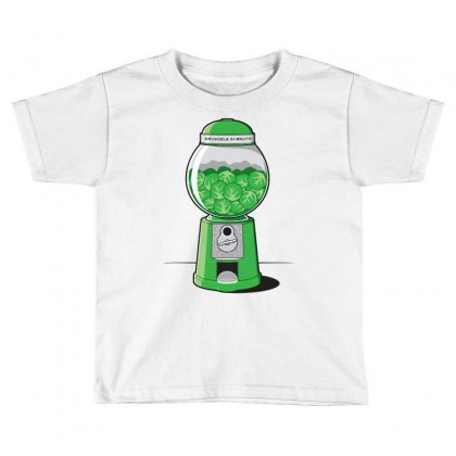 Brussels Sprout Machine Toddler T-shirt Designed By Iamar25