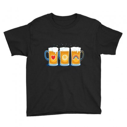 Care Beers Youth Tee Designed By Iamar25