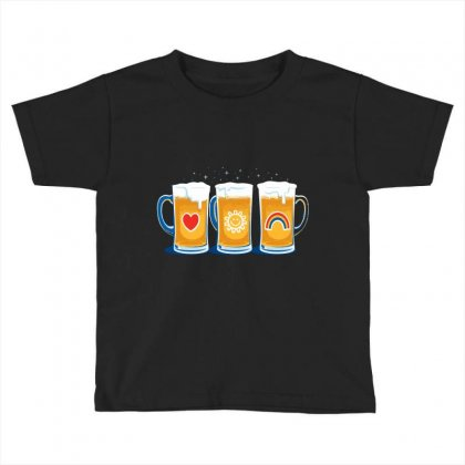 Care Beers Toddler T-shirt Designed By Iamar25