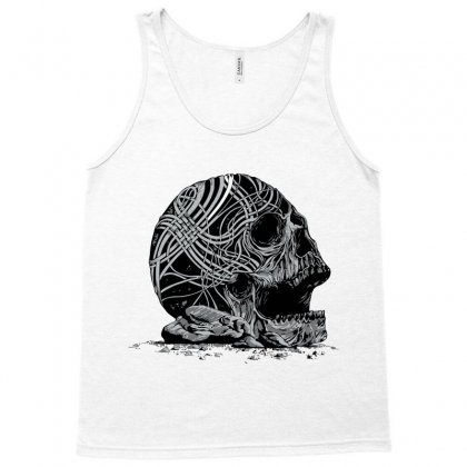 Celtic Skull Tank Top Designed By Iamar25