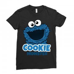 Cookie Monster Ladies Fitted T-Shirt | Artistshot