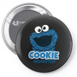 Cookie Monster Pin-back button | Artistshot