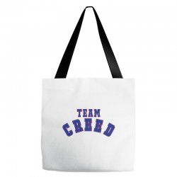 Team Creed Tote Bags | Artistshot