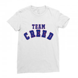 Team Creed Ladies Fitted T-Shirt | Artistshot