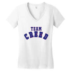 Team Creed Women's V-Neck T-Shirt | Artistshot