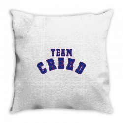 Team Creed Throw Pillow | Artistshot