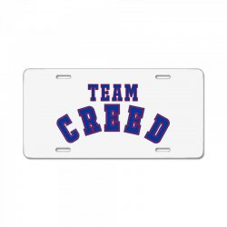 Team Creed License Plate | Artistshot