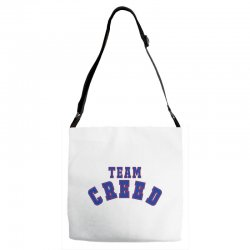 Team Creed Adjustable Strap Totes | Artistshot
