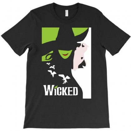 Wicked Broadway Musical About Wizard Of Oz T-shirt Designed By Mdk Art