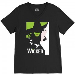wicked broadway musical about wizard of oz V-Neck Tee | Artistshot