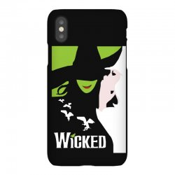wicked broadway musical about wizard of oz iPhoneX Case | Artistshot