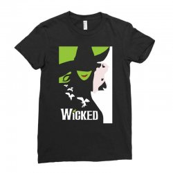 wicked broadway musical about wizard of oz Ladies Fitted T-Shirt | Artistshot