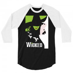 wicked broadway musical about wizard of oz 3/4 Sleeve Shirt | Artistshot