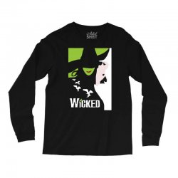 wicked broadway musical about wizard of oz Long Sleeve Shirts | Artistshot