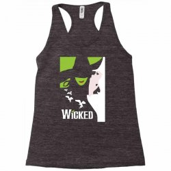 wicked broadway musical about wizard of oz Racerback Tank | Artistshot