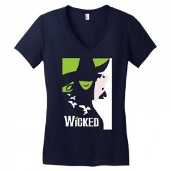 wicked broadway musical about wizard of oz Women's V-Neck T-Shirt | Artistshot