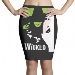 wicked broadway musical about wizard of oz Pencil Skirts | Artistshot