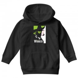 wicked broadway musical about wizard of oz Youth Hoodie | Artistshot