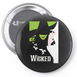 wicked broadway musical about wizard of oz Pin-back button | Artistshot