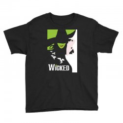 wicked broadway musical about wizard of oz Youth Tee | Artistshot