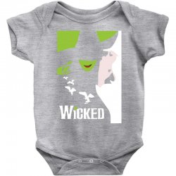 wicked broadway musical about wizard of oz Baby Bodysuit | Artistshot