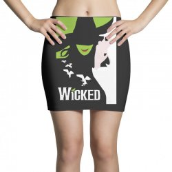 wicked broadway musical about wizard of oz Mini Skirts | Artistshot