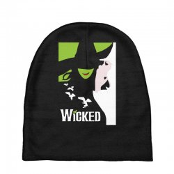 wicked broadway musical about wizard of oz Baby Beanies | Artistshot