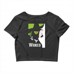 wicked broadway musical about wizard of oz Crop Top | Artistshot
