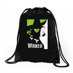 wicked broadway musical about wizard of oz Drawstring Bags | Artistshot