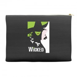 wicked broadway musical about wizard of oz Accessory Pouches | Artistshot