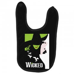 wicked broadway musical about wizard of oz Baby Bibs | Artistshot